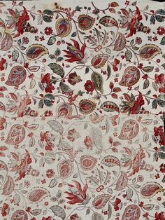 blocked cotton print 1795-1810 from France