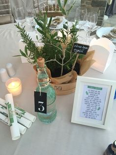 Greek wedding deco, greenery, family service, grappa, table number, menu, event stationary, lafetegr, Rosemary, blackboard tag