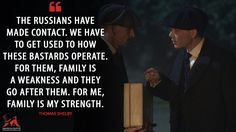 Discover and share the most famous quotes from the TV show Peaky Blinders. Peaky Blinders Series, Peaky Blinders Quotes, Most Famous Quotes, Movie Lines, Tv Show Quotes, Cillian Murphy, Family Quotes, Tv Shows, Strength