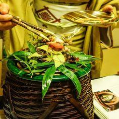 Roe Bearing Ayu Fish served by Chef Murata-san's wife at Kikunoi Honten in Kyoto