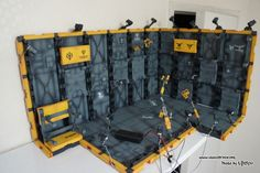 GUNDAM GUY: Hangar Base - Diorama Build w/ LEDs