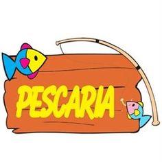 Painel Decorativo EVA Festa Junina Pescaria Party Decoration, Silhouette Projects, Preschool Crafts, Toy Chest, Education, Kids, Professor, Angler Fish, Celebration