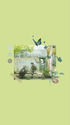 Jjk green aesthetic wallpaper