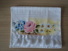 toalha de lavabo | Costurando mimos e cores | Elo7