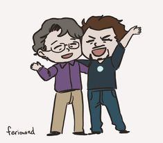"""""""Yes! It's me and Robert! Look at this! There's thousands of them… It's called the Science Bros. This is awesome. I've never heard of it. Why hasn't anyone told me about that?"""" 