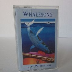 Whalesong Music Cassette Tape Tim Wheater Dancing With The Whales Whale Echoes…