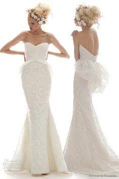 Elizabeth Fillmore Spring 2013 Wedding Dresses | Wedding Inspirasi