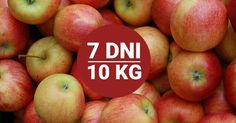 Dieta jabłkowa - 7 dni i 10kg mniej. To możliwe! My Favorite Food, Favorite Recipes, My Favorite Things, Weigh Loss, Fit Women, Food And Drink, Health Fitness, Menu, Apple
