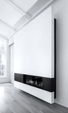 Fireplace - Thellend Fortin Architectes | Prince Philip Residence expansion | Montreal