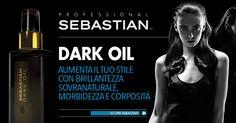Dark Oil: contiene polimeri ad elevato peso molecolare che reintegrano il capello dall'interno rendendo più liscia la cuticola e potenziandone la luminosità.