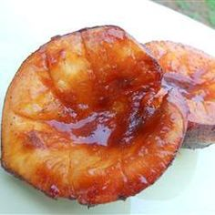 Bbq Grilling, Barbequed Peaches, Sweet Peaches Slathered With Spicy Barbeque Sauce And Grilled Are The Perfect Addition To Any Summer Barbeque!