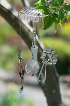 Kitchen Sink Wind Chime on Etsy, $8.00