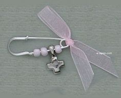 Greek baptism favors martyrika witness pins baptism girl martirika baptism cross greek martyrika baby christening safety pins for guests by eAGAPIcom on Etsy Distintivos Baby Shower, Baby Shower Gifts, Baby Gifts, Greek Wedding, Wedding Sets, Beaded Braclets, Baby Dedication, Baby Girl Christening, Baptism Favors
