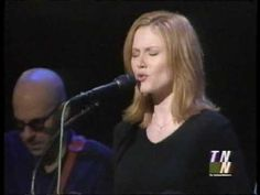 "The beautiful Allison Moorer (wife of the fabulous Steve Earle) sings ""Flying Too Close To The Ground"" - a nice version."