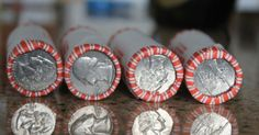 Valuable Coins That Could Be Hiding in Your Change You don't need to find a Revolutionary War-era coin to make a fortune from your change. These eight valuable coins could be hiding in your pocket right now.Days Like These Days Like These may refer to: Rare Coins Worth Money, Valuable Coins, Old Coins Value, Change Jar, Make Millions, Coin Worth, Coin Values, You Loose, Old Money