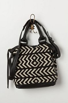 Gypset Chevron Satchel