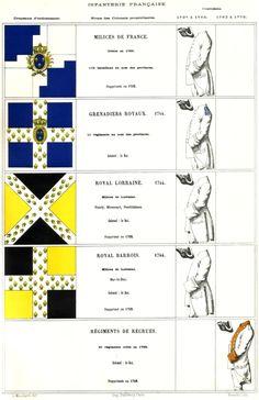 Praetiriti Fides, Exemplumque Futuri : Mouillard - Infanterie française