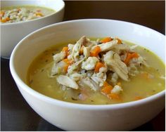BARLEY recipes | Slow Cooker Chicken and Barley Soup | Simple Recipes