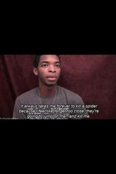 Kingsley and I are so alike