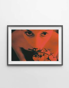 Woman Portrait Photography Red Photo Fine Art by TinyAnts on Etsy, $15.00