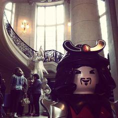 Un samouraï à #versailles ! C'est parti pour l'expo #playmobil !