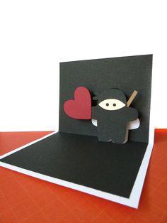 Ninja Pop Up Card