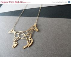 horse necklace geometric jewelry by WildThingStudio on Etsy Equestrian Jewelry, Equestrian Boots, Horse Jewelry, Equestrian Outfits, Equestrian Style, Horse Necklace, Arrow Necklace, Looks Country, Bijoux Design