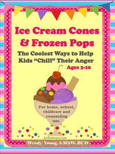 """Cool ideas to help kids """"chill"""" their anger.  Incorporate into your whole class (or use at home).  Includes ways to use for center time.  Half off intro price until mid-June.  Some of Kidlutions BEST ideas to help kids deal with #anger"""