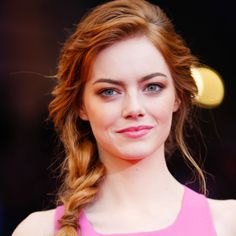 """I can't think of any better representation of beauty than of someone who is unafraid to be herself.""—Emma Stone"