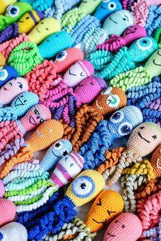 Free octopus crochet patterns