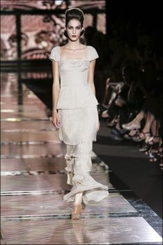 Le défilé Valentino haute couture automne-hiver 2007-2008