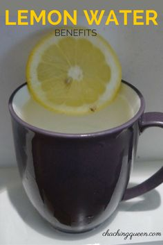 Benefits of Lemon Water – Why I Drink Warm Lemon Water Every Morning – Cha Ching Queen