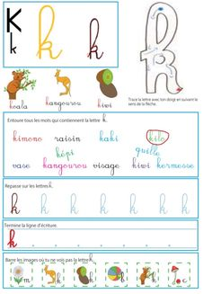 French Cursive, Cursive J, French Classroom Decor, French Flashcards, Teaching French, Home Schooling, Learn French, Kindergarten Activities, Teaching Tools