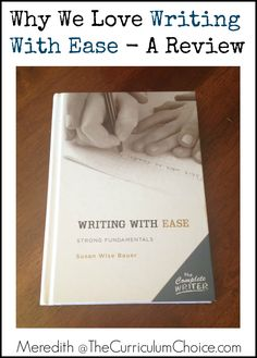 Why we love Writing with Ease? This allows children to gain confidence and necessary skills towards becoming proficient writers, a little at a time.