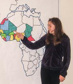 Imprimer des cartes de géographie géantes