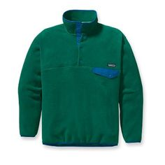 Patagonia Men's Snap-T Pullover...yes I want this for myself. :)