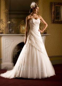 #tulle wedding dress