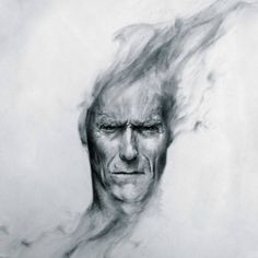clint eastwood painting | Clint Eastwood, Art wallpapers