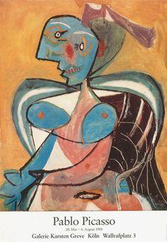 Pablo Picasso | Galerie Karsten Greve, Cologne 1988