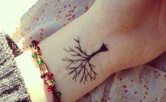 Tatuajes pequeños para la muñeca, elegantes y discretos - http://www.tatuantes.com/tatuajes-pequenos-para-la-muneca/