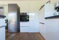 Kitchen Cabinets, Kitchen Appliances, French Door Refrigerator, French Doors, Home Decor, Diy Kitchen Appliances, Home Appliances, Decoration Home, Room Decor