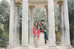 Villa Borghese, Rome Engagement. To see more of this darling engagement http://rochellecheever.com/2014/01/italy-engagement-photographer-in-rome-venice-tuscany-paris/