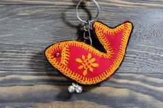 Cute key chain,Fish accessories,Tribal keychains,Handmade keychains,Colorful keychains,Fabric,keychains for women,Free shipping,Gift for her by ZsTribalTreasures on Etsy