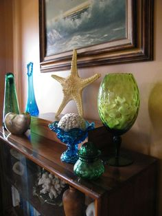 love vintage glass ware