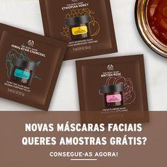 Amostras e Passatempos: AMOSTRAS de Máscaras Faciais Vegetarianas by The B...