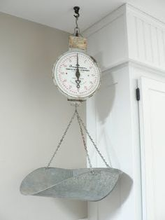 Antique Hanging Kitchen Scale By MyVintageLane On Etsy, $75.00 | Amazing  Kitchens | Pinterest | Kitchen Scales, Scale And Kitchens