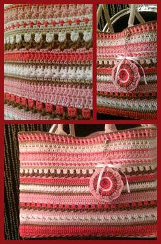Roze, beige en bruin, lieve kleuren voor een lieve meid, ;-)