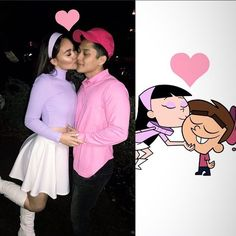 150 Couples Halloween Costumes to make you both look like the Superstars of the. 150 Couples Halloween Costumes to make you both look like the Superstars of the party - Halloween 2019 - Cool Couple Halloween Costumes, Cute Couples Costumes, College Couple Costumes, Disney Couple Costumes, Halloween Parties, Couple Costume Ideas, Cartoon Halloween Costumes, Halloween 2019, Group Halloween