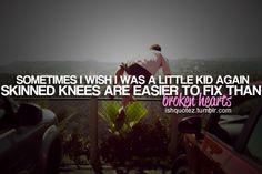 easier to fix than a broken heart...