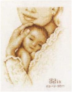 Vervaco Cross Stitch Kit A Mother's Love 14ct PN-0012175